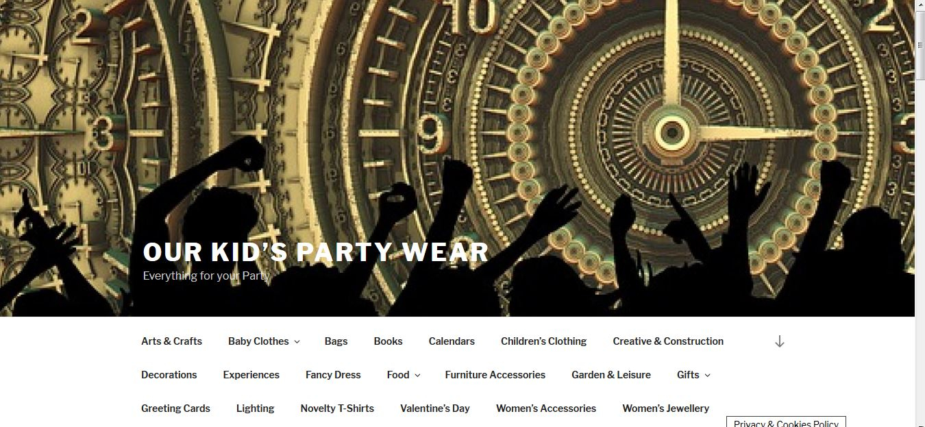 Party Wear - especially for Children